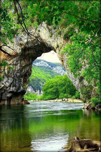 France, Pont d'arc, nature, travel