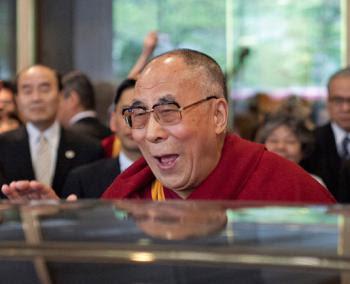 laughing dalai lama