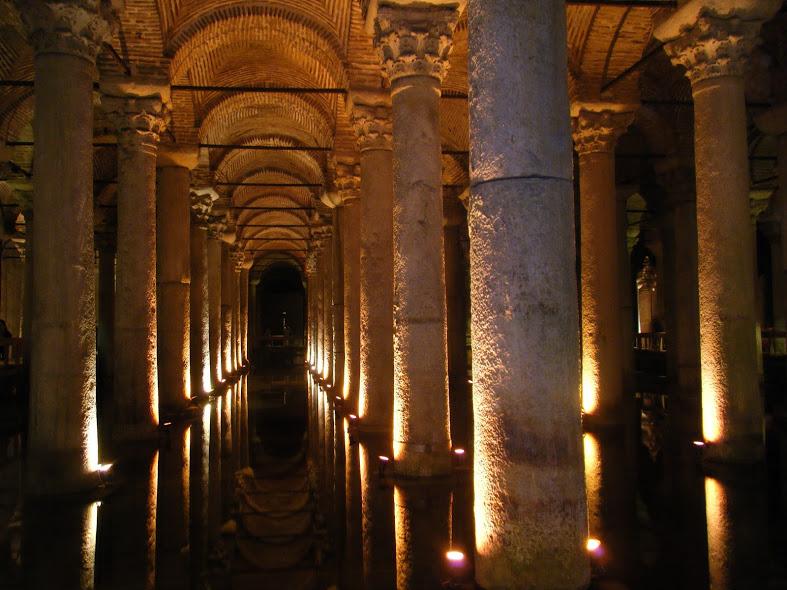 basilica cistern instanbul turkey