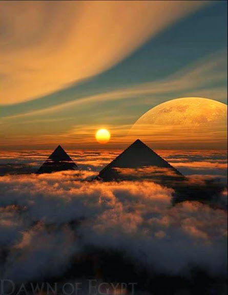 dawn over egypt