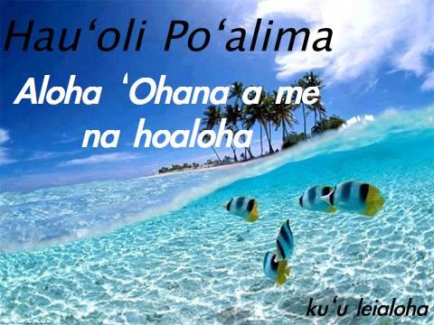 aloha friday 5
