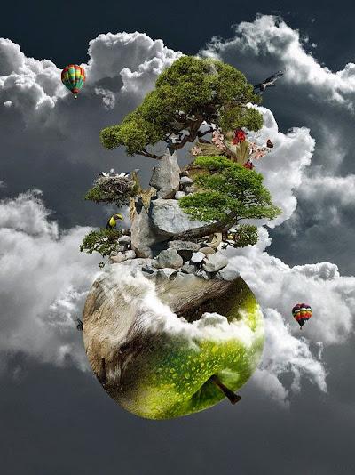 Apple-world nature artwork by blankenho