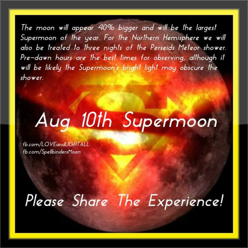 Aug 10 supermoon 2014