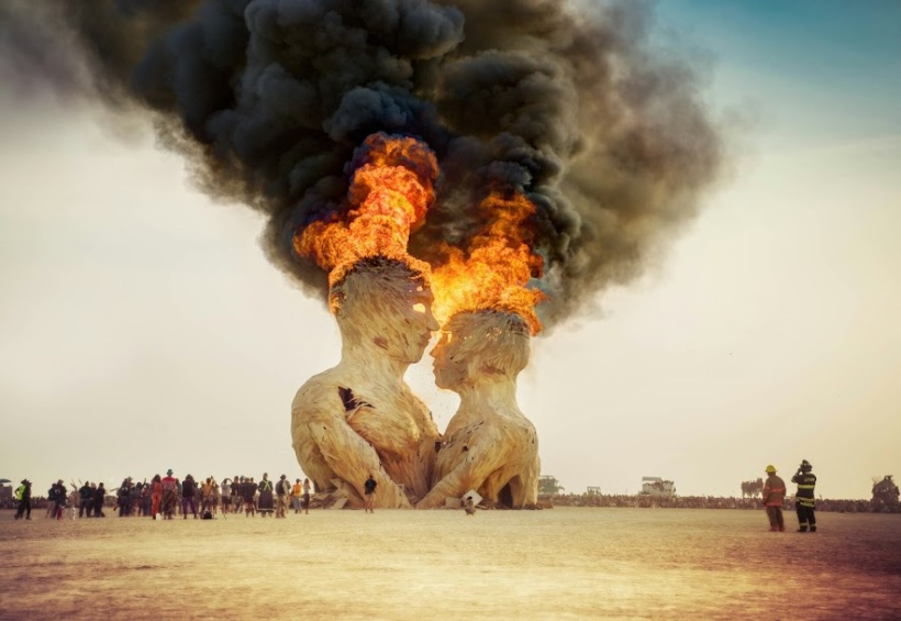 2014 Burning Man celebration ~ Nevada USA