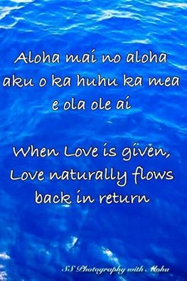 Hawaiian quote