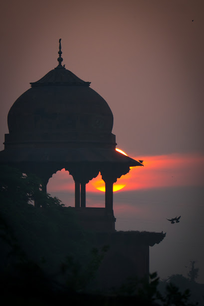 Indian sunset