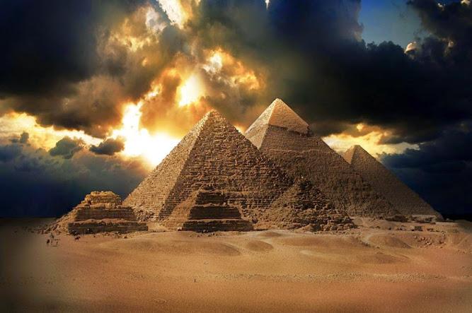 pyramids Egypt