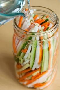 viet pickled veggies