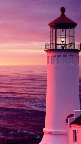 violet lighthouse