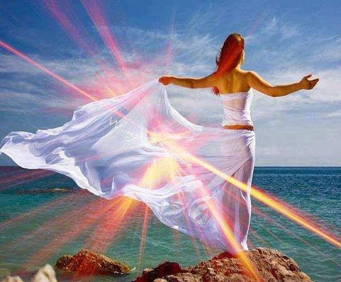 From our SoCal Halau ~ Harmony Blossom, Reiki Grandmaster and an Initiate of the A&O Order of Melchizedek