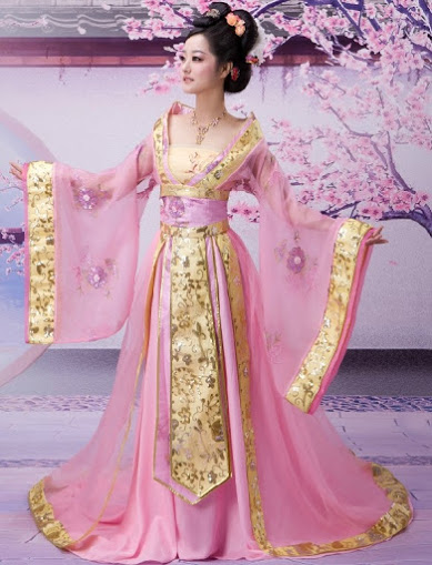 pink Chinese girl