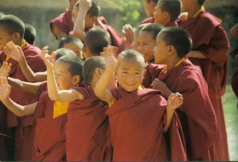 Tibetan-children