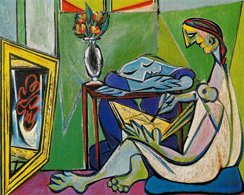 """A Muse"" (1935) ~ Pablo Picasso"