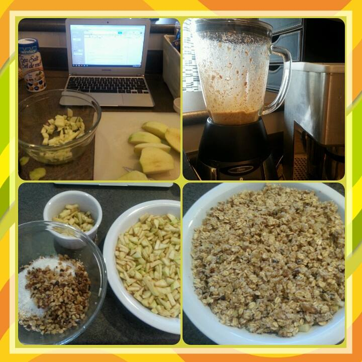 Apple Crisp ~ If you want info about this challenge and the shopping list, click on the image.