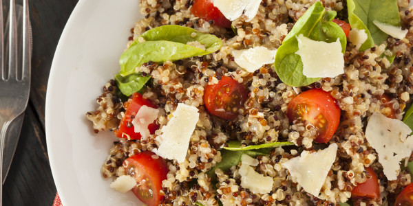 Maple Balsamic Quinoa Delight Salad