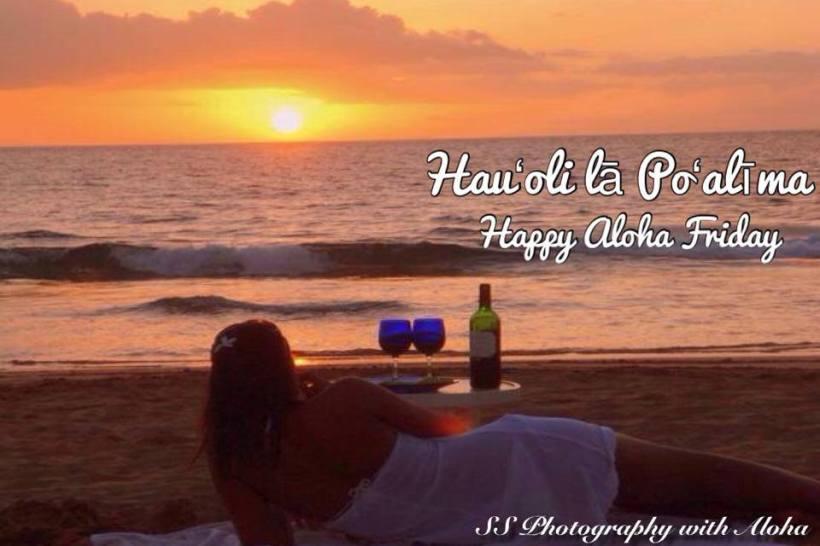 aloha friday beach