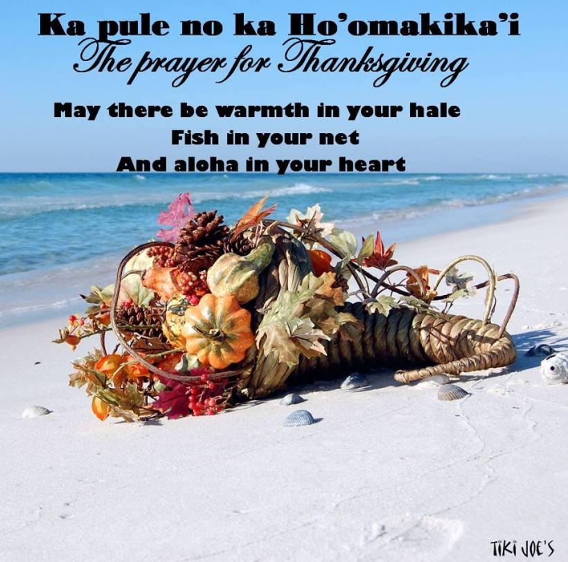 Hawaiian Thanksgiving