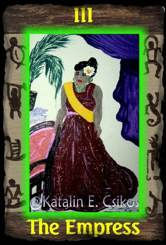 Hawaiian_Tarot_Empress_3