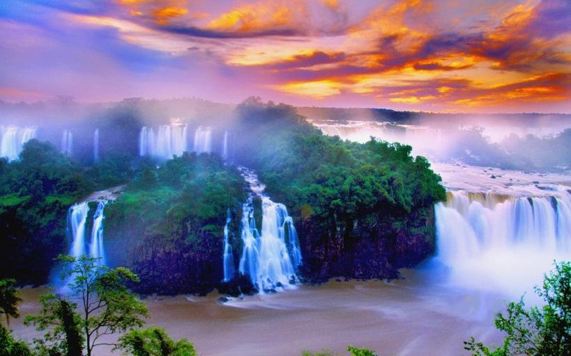 Iguacu Falls National Park, Argentina, Brazil