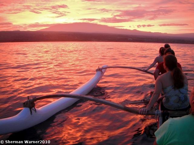 aloha_morning paddling