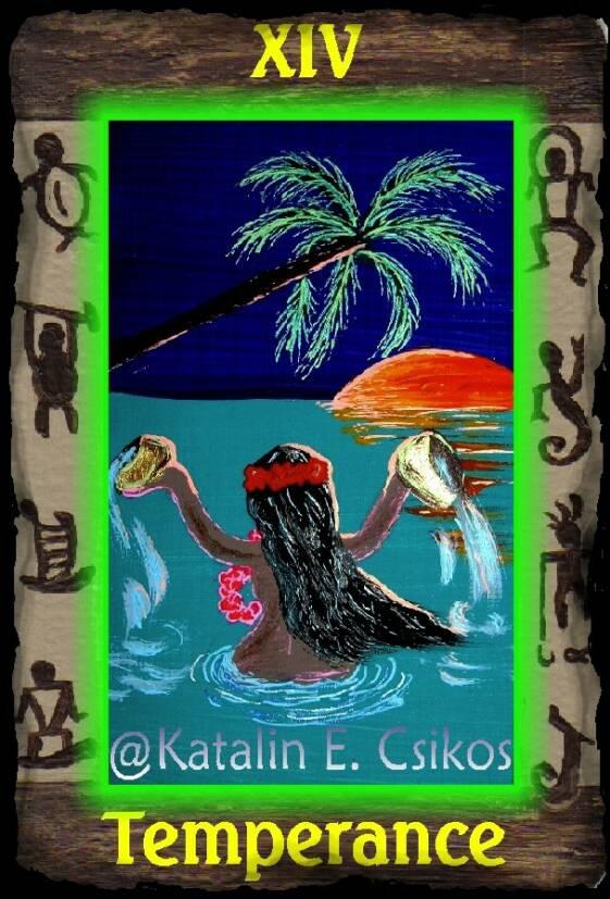 Hawaiian_Tarot_Temperance_14