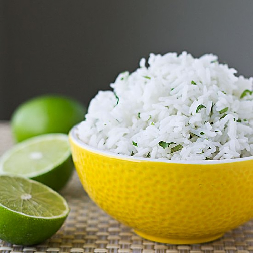 Chipotle Cilantro Lime Rice - click here for the recipe