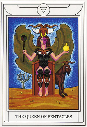 GD TAROT_queen pentacles