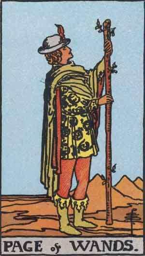 tarot_PageWands