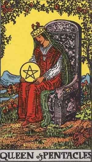 tarot_QueenPentacles