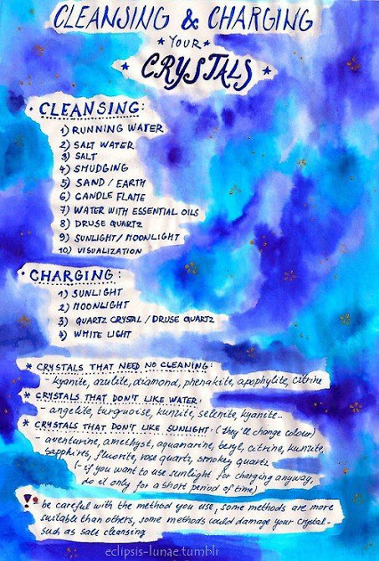 crystals-cleansing