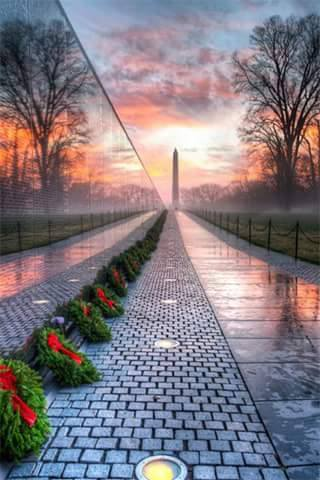 Vietnam Veterans Memorial Wall - Washington, D.C.
