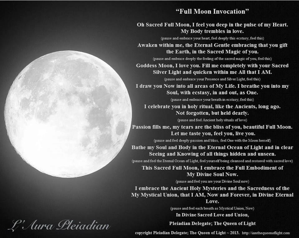 Full Moon Evocation August 7 2017 H Lau Aha H I L Nakila