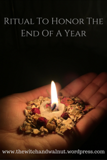 ritual To Honor the end of a Year