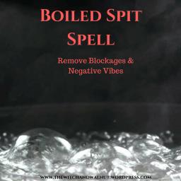 Boiled Spit Spell