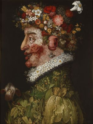 Spring Arcimboldo Astrology by Tara Greene