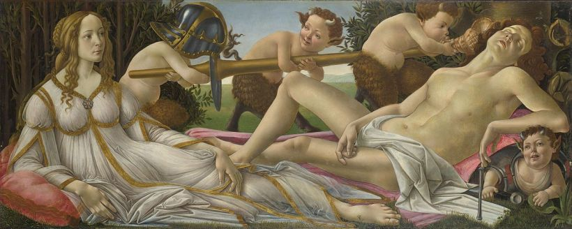 Venus and Mars Botticelli astrology