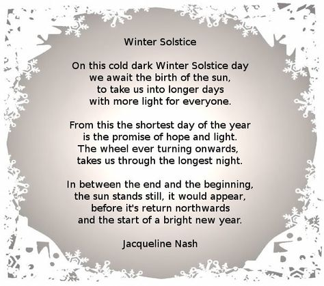 nash winter solstice