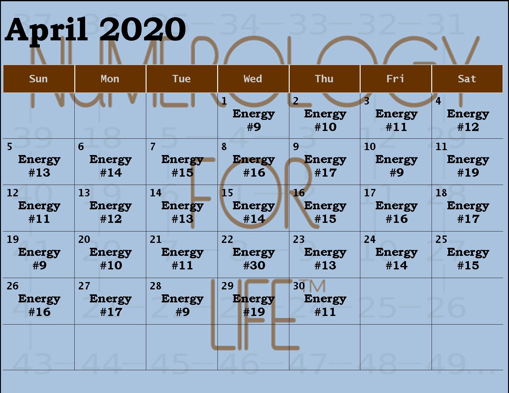 2020 APR